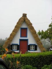 Traditional house, Santana
