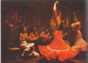 Flamenco is a fiesta of passionate dance, music and colours