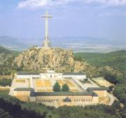 Cross of the Valley of the Fallen and the Benedictine Monastery