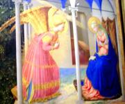 Part of The Annunciation of Fra Angelico