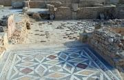 Mosaic floor in ancient Thapsus