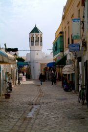 Mahdia's medina in the morning