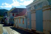Marigot's low rise architecture