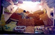 Marrakesh Spice Shop, aroma fills the streets.