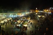 Jemaa-El-Fna at night