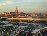 Jemaa-El-Fna - a World Heritage site