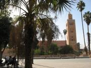 Koutoubia Mosque from Djemma al Fna'a
