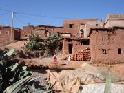 Berber hillside village  - Atlas Mountains