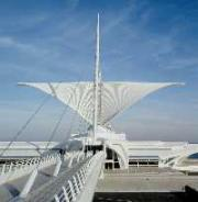 The Brise Soleil of the Milwaukee Art Museum