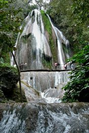 Cola de Caballo (Horse Tail Waterfall)