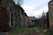 abandoned houses in Rignano Flaminio