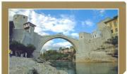 famous bridge of Mostar