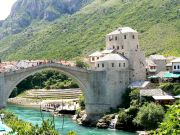 The new 'Old' bridge of Mostar