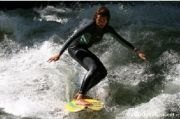 River surfing in Munich from andreas