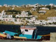 The harbour in Chora