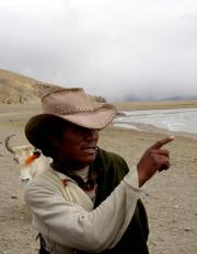 Tibetan Nomad (I have that same hat!)