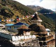 Namche Bazaar travelogue picture