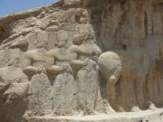 Shapur 1 With His Courtiers
