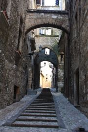 the most atmospheric small street, Via del Campanile