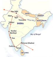 Google Map Of India