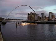 Millenium Bridge and Baltic Arts Centre