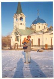 Novosibirsk Cathedral and me