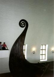 Prow of one ship, Viking Ships Museum