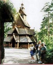 Stave Church, Folk Museum