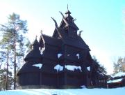 Stave Church at Folkes Museum
