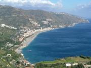 The coast near Taormina