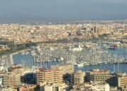 Palma as seen from Castell de Bellver
