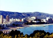 Magaluf Beach, view from the hotel