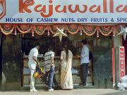 Cashew nuts on sale everywhere