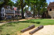 The Fort Zeelandia in Paramaribo.