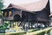 Rumah Kutai (Malay Traditional House)