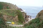 Good picnic spot at Porthgwarra