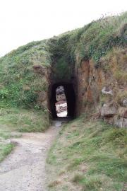 Porthgwarra - could a child resist these tunnels?
