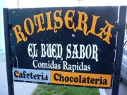 Sign of Restaurant El Buen Sabor