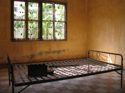 Toul Souk High School,a bed in room,used to torture victims