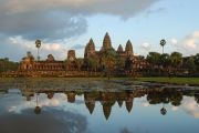 Angkor Wat during sunset