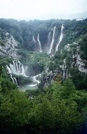 Plitvice Seen travelogue picture
