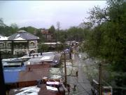 Pokhara after a hail storm