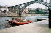Bridge and old port boats, Porto
