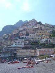 The town of Positano