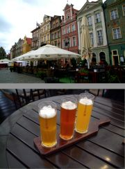 Upper:  Club 65's terrace. 
