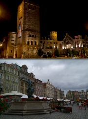 Upper:  Emperor's Castle.