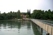 The Chek Jawa Visitor Center and Viewing Jetty