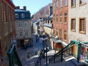 The Lower Old Town of Quebec City.