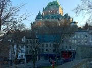 Chateau Frontenac, which is housing the Fairmont Hotel.