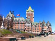 Chateau Frontenac, as seen from the River Terrace.
